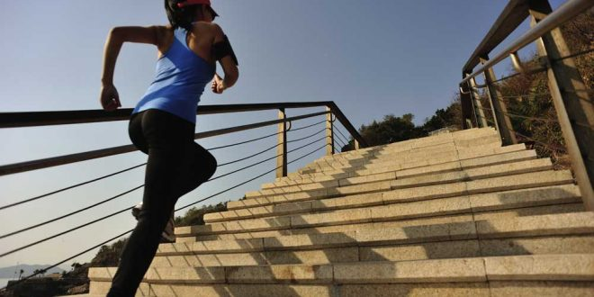 Scientists find brief; intense stair climbing is a practical way to boost fitness