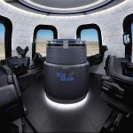 Blue Origin shows off launch vehicle capsule (Photo)
