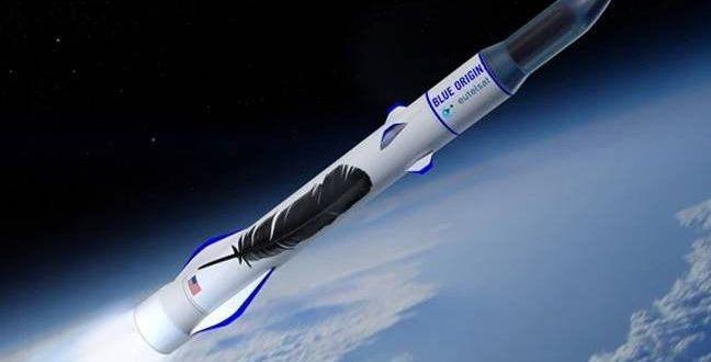 Blue Origin's New Glenn launch & landing animation (Video)