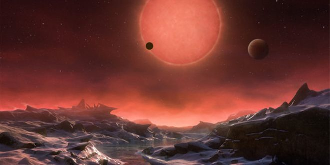 Could the TRAPPIST-1 planetary system be home to alien life?
