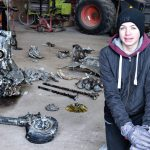 Danish Boy Finds Downed German Messerschmitt on Family Farm