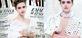 Emma Watson defends topless shoot