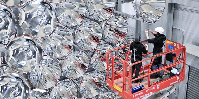 German Researchers Test Artificial Sun in Effort to Make Climate-Friendly Fuel