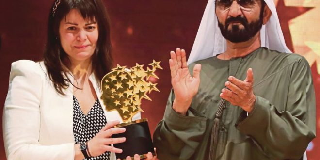 Maggie MacDonnell, Teacher wins $1m best-teacher prize in Dubai