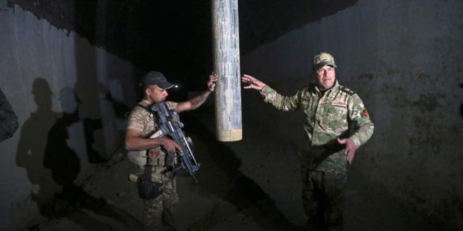 Mile-long underground ISIS training camp uncovered outside of Mosul