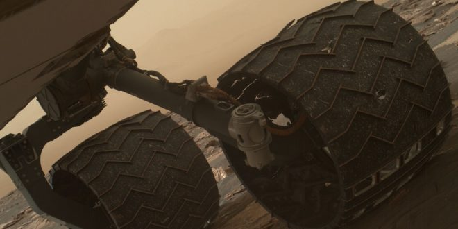 NASA: The Curiosity Mars rover's wheels are starting to break
