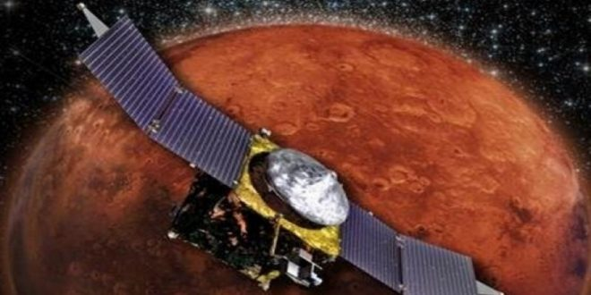 NASA's MAVEN Spacecraft maneuvers out of Phobos' orbit