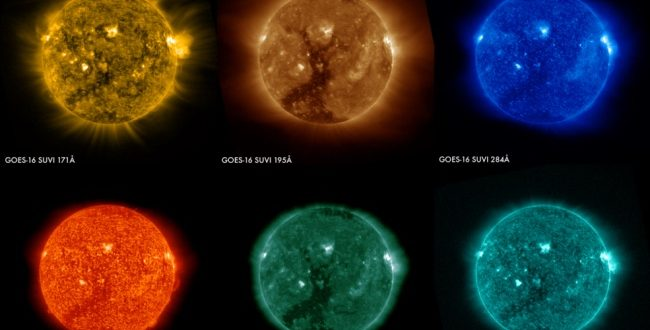 New NOAA satellite captures first solar images (Watch)