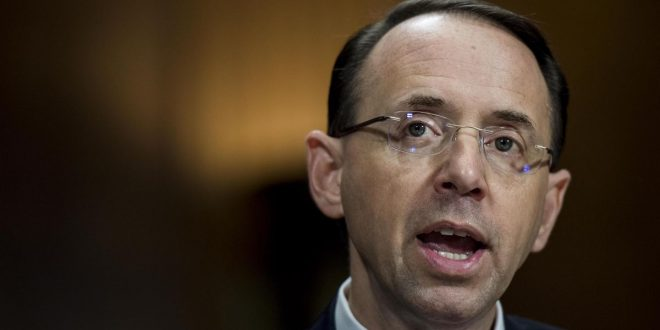 Rod Rosenstein: Deputy AG pick grilled about Russia