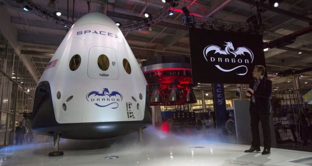 Spacex To Send Two Tourists Beyond The Moon Next Year