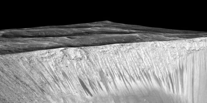 Streaks on Martian slopes might not be caused by water (Research)