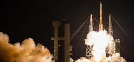 US Delta IV rocket launches powerful military satellite (Watch)