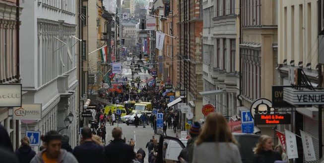 BREAKING: At least 3 dead as truck rams Stockholm store