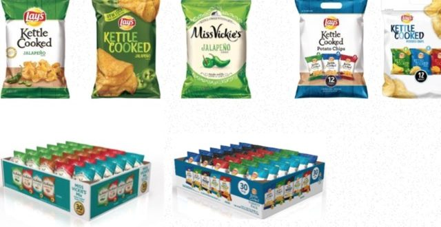 "Frito-Lay recalls some potato chips ""Report"""