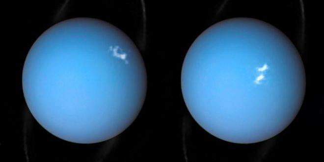Hubble captures auroras on Uranus (Photo)