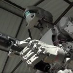 Russia has built a terrifying robot which can fire guns, and is sending it into Space (Video)