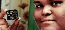 Indian teen Rifath Shaarook Builds World's Smallest Satellite Using 3D Printing
