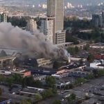 BREAKING: Fire closes Surrey Central Station (Video)