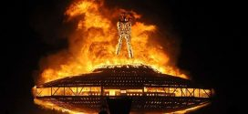 Married Oklahoma man, 41, dies after running into flames at Burning Man