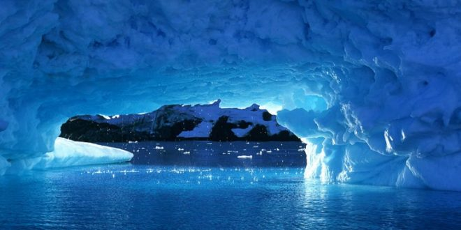 Secret life may thrive under warm Antarctic caves, finds new research