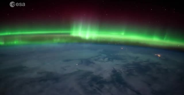 Watch The Aurora Borealis From Space! (Video)