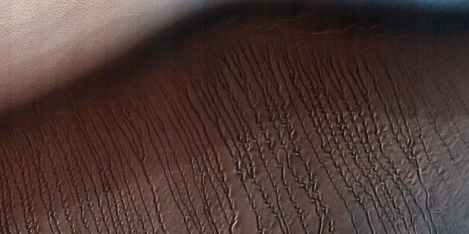 Researchers Explain 'Scratch Marks' on Mars