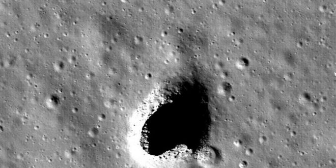 Researchers identify perfect place for moon base (Photo)