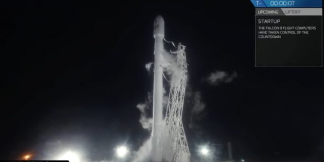 Iridium payload released from Falcon 9 rocket in orbit