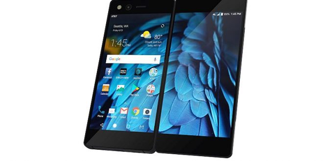ZTE launches innovative dual screen foldable smartphone Axon M in US