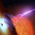 Astronomers penetrate mystery of raging black hole beams