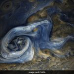 NASA 'oil painting' image reveals a massive raging storm on Jupiter