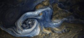 NASA 'oil painting' image reveals a massive raging storm on Jupiter (Photo)