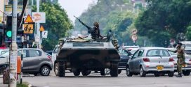 Robert Mugabe in custody as army takes control in Zimbabwe