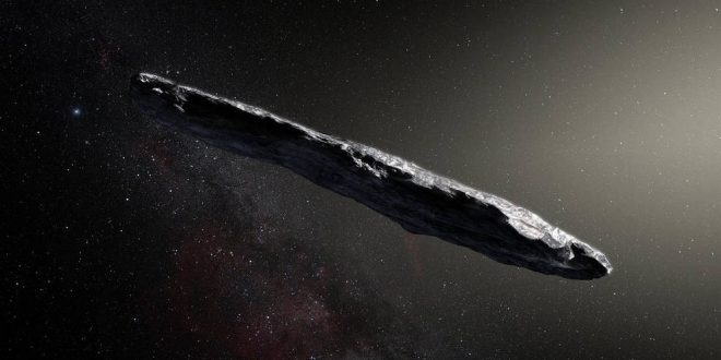 Lost interstellar asteroid enters solar system