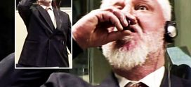Slobodan Praljak: Bosnian war criminal dies after drinking poison in court (Watch)