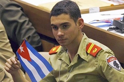 Elian gonzalez joins cuban military : Cuba Releases Photo