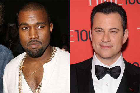 Jimmy Kimmel : did parody of a Kanye West interview