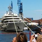 Roman Abramovich installs anti-paparazzi laser photo shield on Giant Yacht