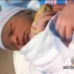 Shavonnte Taylor had baby boy in Metro station