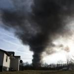 Area evacuated near fire on Tenn. Superfund site