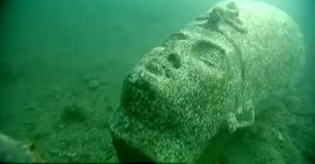 Egypt : Heracleion Under Sea in Mediterranean for More Than 1,200 Years (PHOTO)