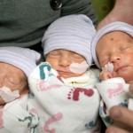 Rare Identical Triplets
