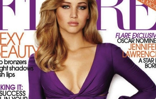 Jennifer Lawrence Photoshop : Airbrushing Fail Goes GIF