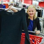 Leafs captain Dion Phaneuf and wife Elisha Cuthbert visit Target store