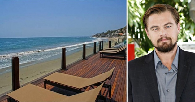 Leonardo DiCaprio : Actor Sells Beachfront Malibu Home