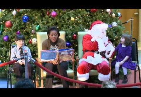 Michelle Obama: Christmas Talent Show Is Family Tradition (VIDEO)