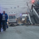 Suicide bomber kills 30 in Russia