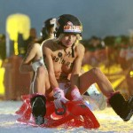 Britons sought for naked sledding