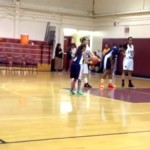 Jaden Newman 63 points : 9-year-old stars on varsity hoops team