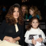 Salma Hayek & Valentina: Charity Chic